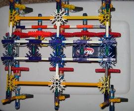 how to build a knex walker