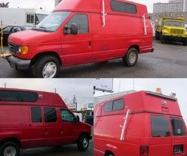 Big Red Van