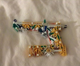 Knex Guardians of the Galaxy Starlord Pistol -Review-