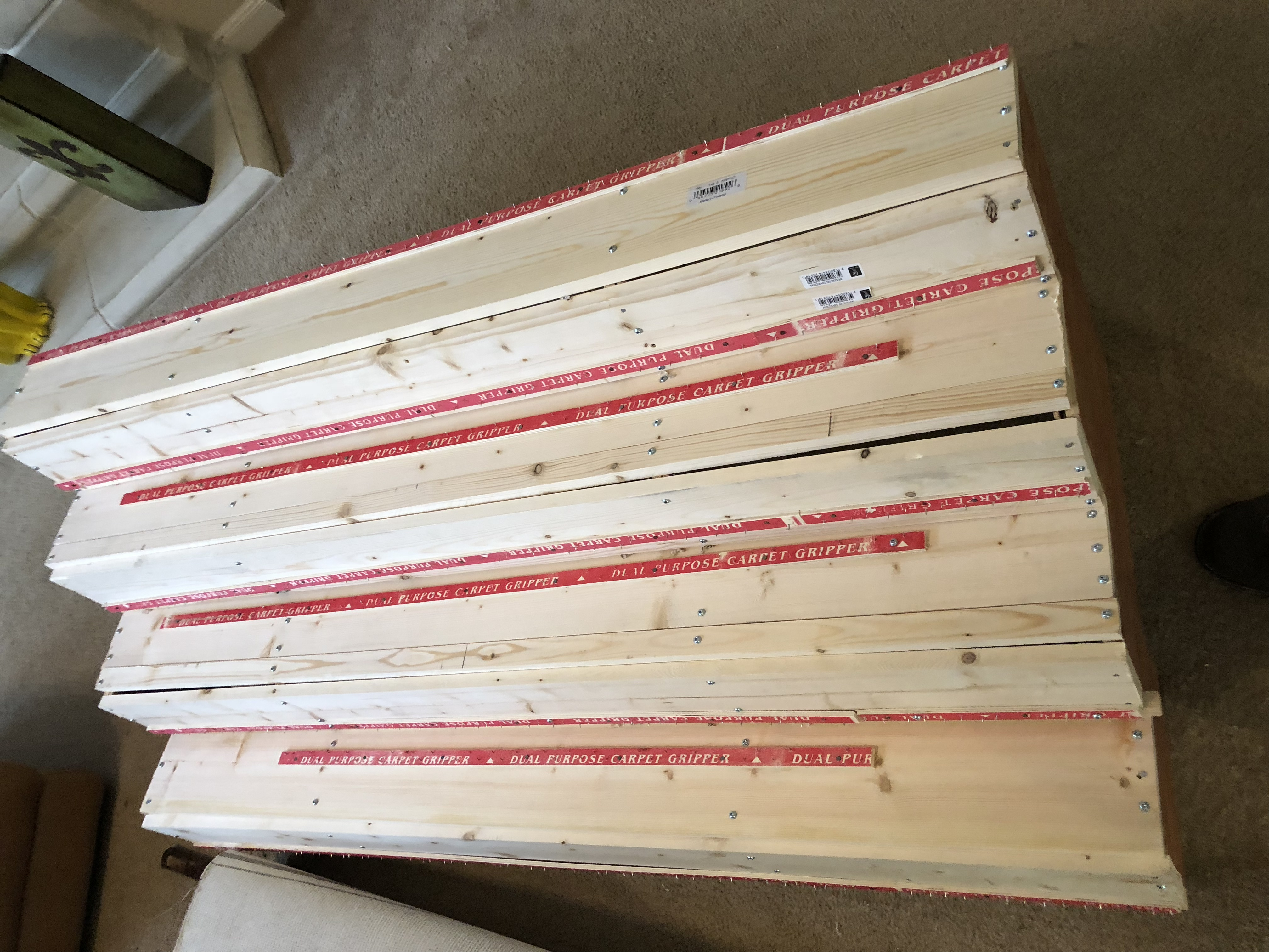 Picture of Carpet Tacking Strips
