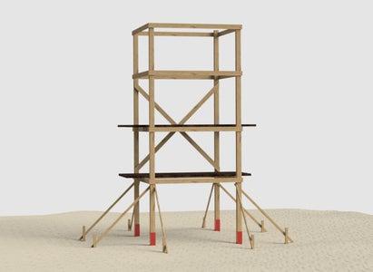 Build in the Diagonal Cross Braces