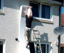How to build a Ninja Warrior warped wall