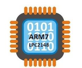 Blinking LED Using ARM7 LPC2148 Microcontroller