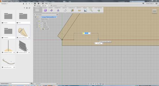 Scale Model - Exact Fabric Templates
