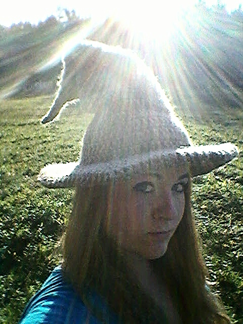 Picture of Crocheted Wizard/Witch Hat