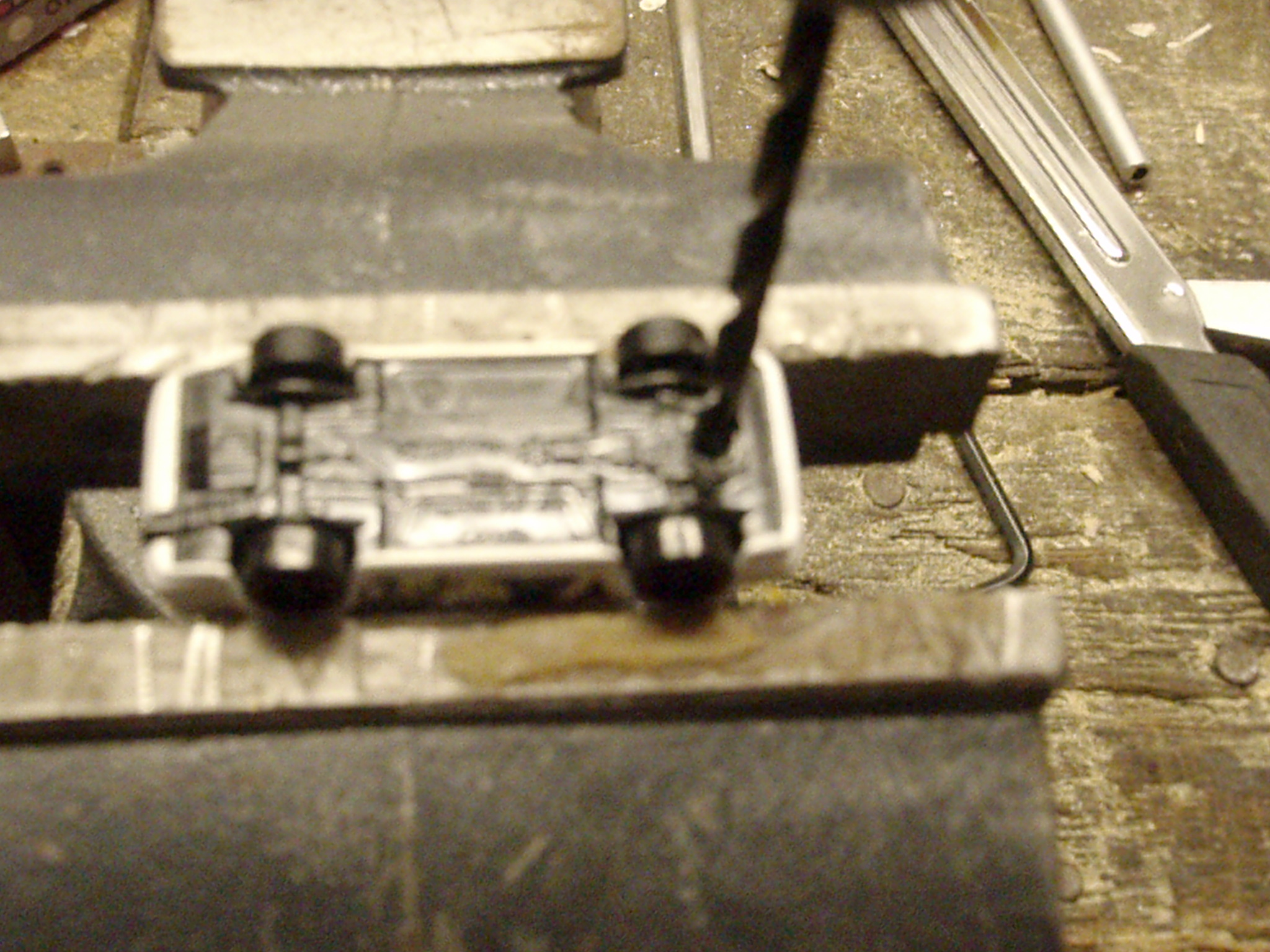 Picture of Drilling Out Rivets