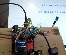 Video/Audio Delay Test Arduino Leonardo + TSL 2561 (Light Sensor) + OLED 1306 Display 128×64