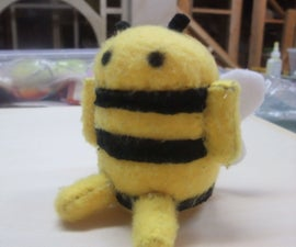 Bee Android Plushie