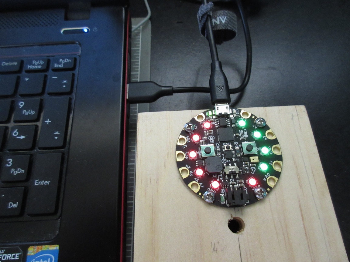 Picture of Upload Game Code to the Circuit Playground Express.