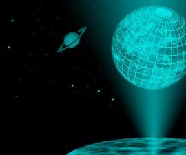 How to make a radiation hologram