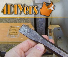 How to Sharpen a Metal Chisel