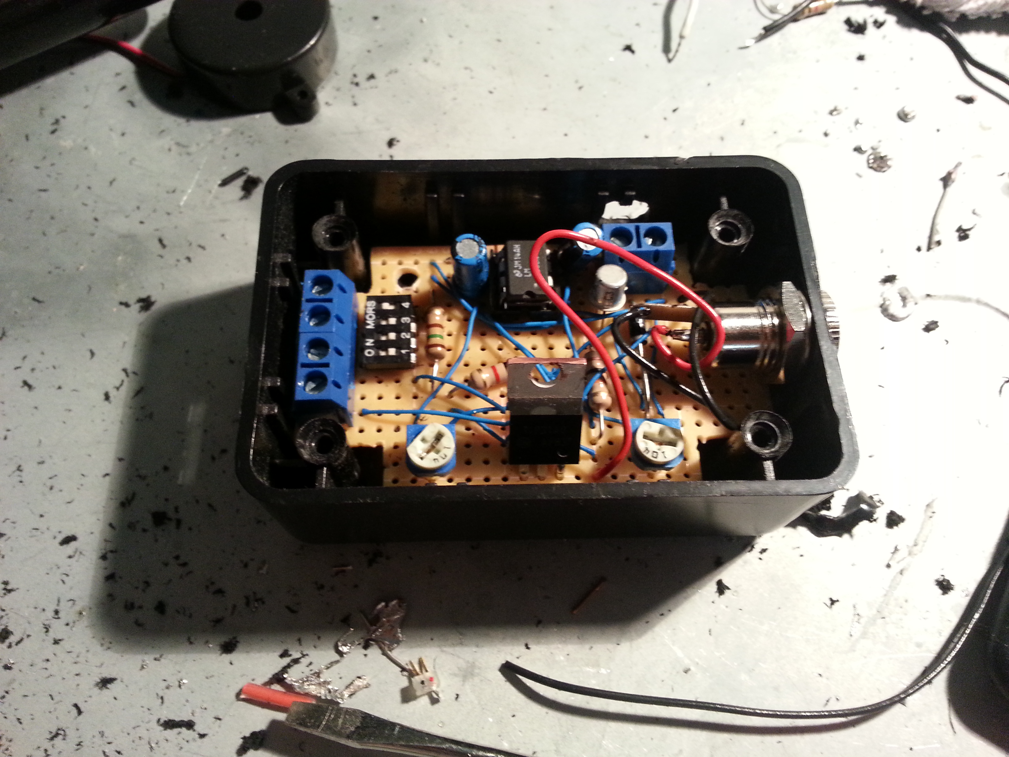 Picture of Project Enclosure Modifications