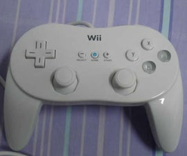 USB Wii Classic Controller