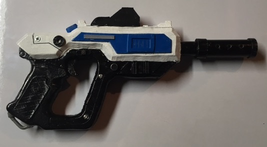 Picture of EVA Foam Prop Blaster Tutorial