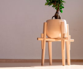 Japanese Plant Stand