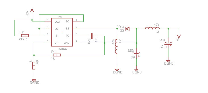 Picture of The Design of the Analog DAQ and Supply Board