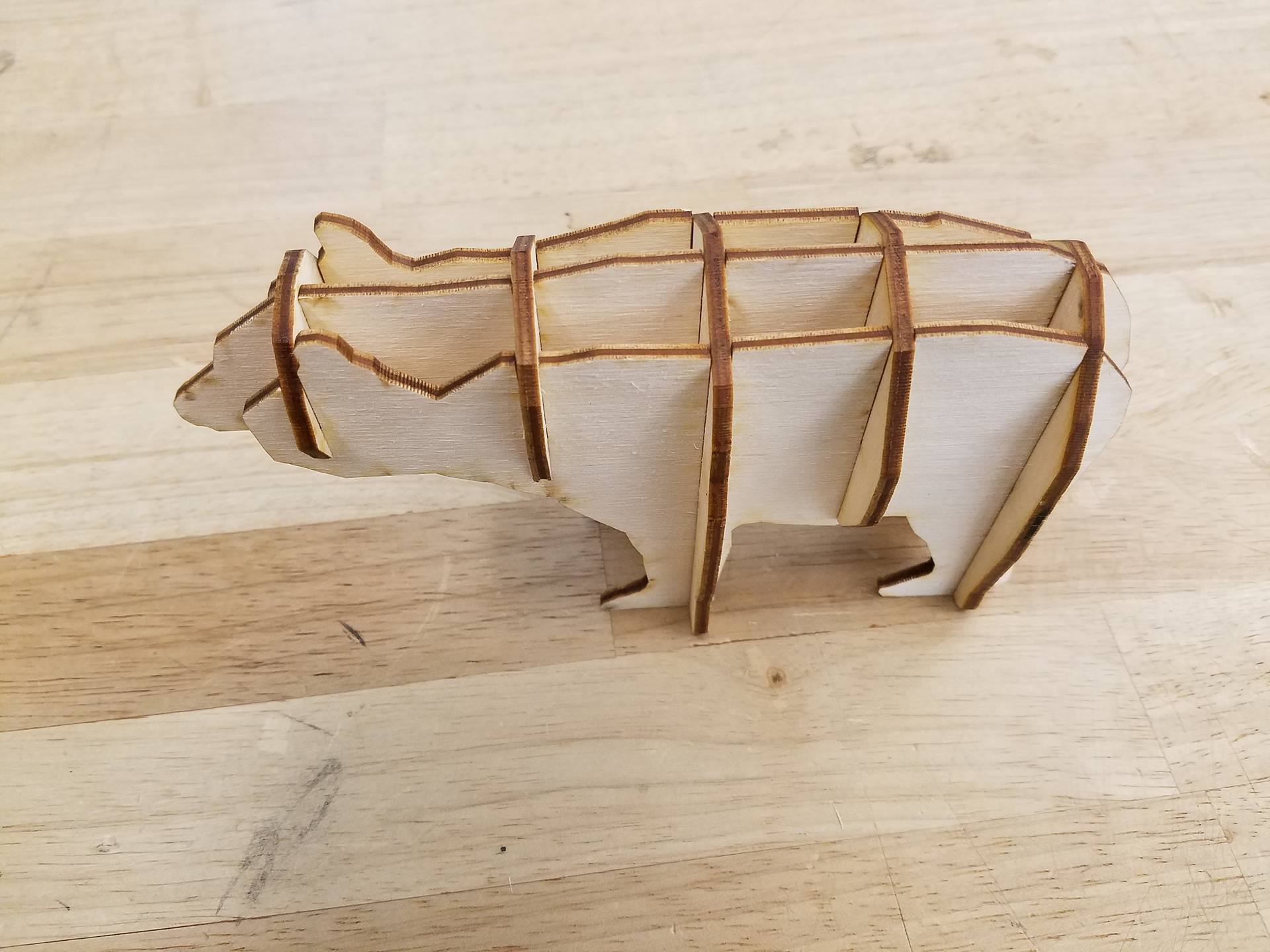 Picture of Laser Cut Bear