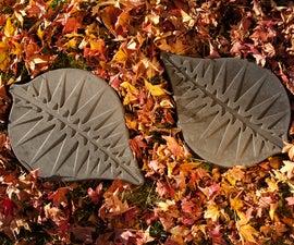 DIY CONCRETE:: How-To-Make Stepping Stones