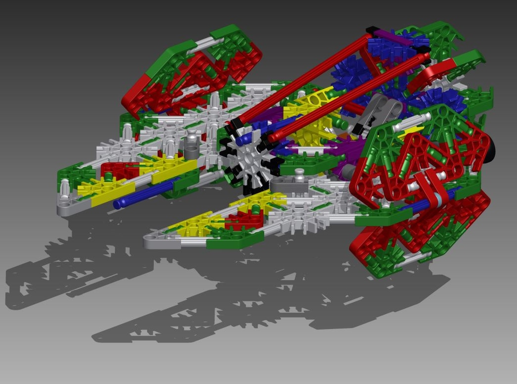 Picture of Knex Space Knight Star Fighter