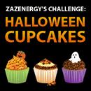 zazenergy's challenge: Halloween Cupcakes