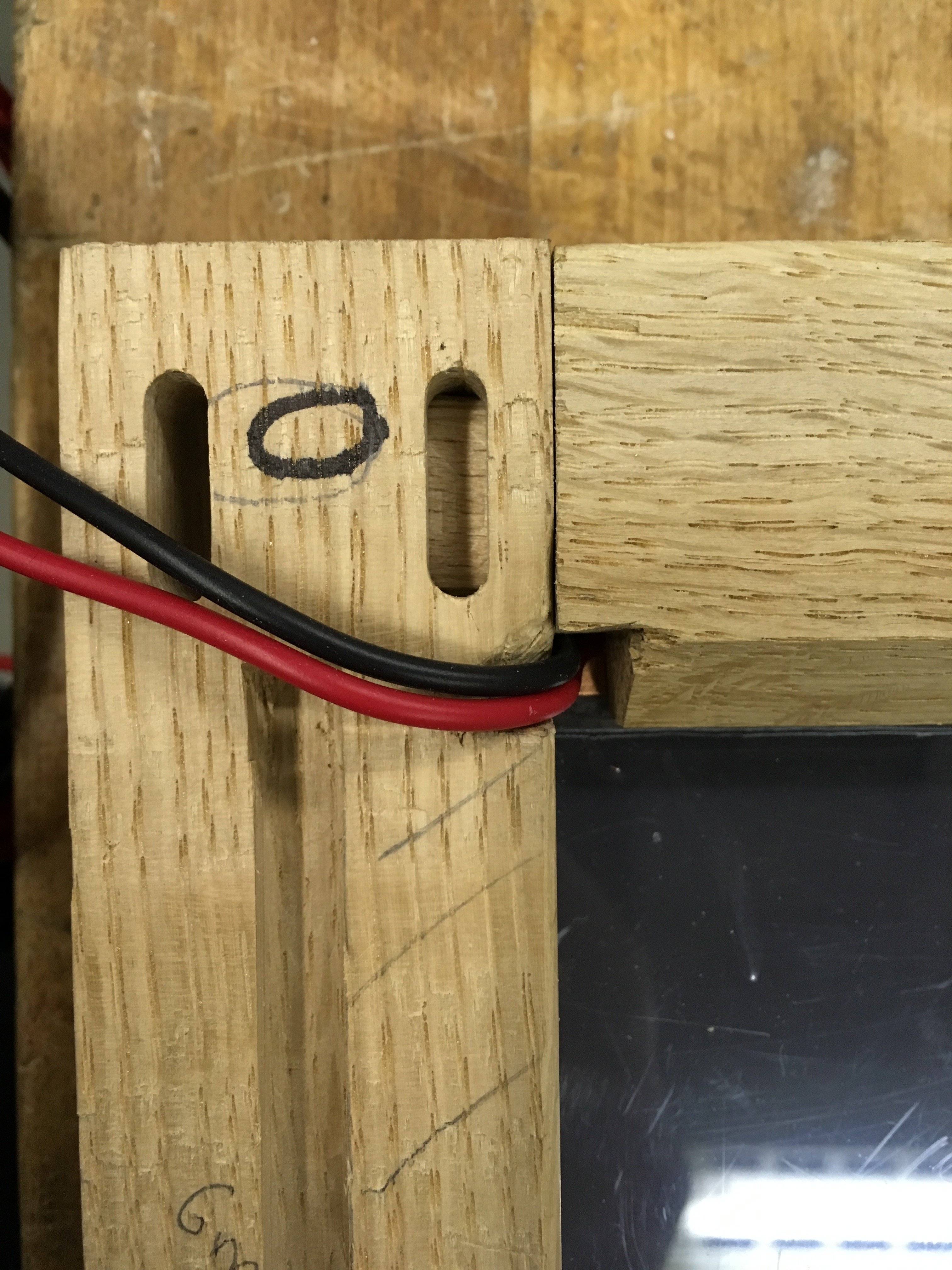 Picture of Allowing for Wiring