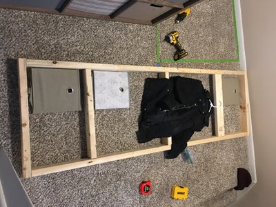 Cut 2x4s and Begin Building the Frame