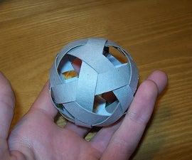 Origami Juggling Ball