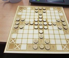 Lasercut Hnefatafl Board
