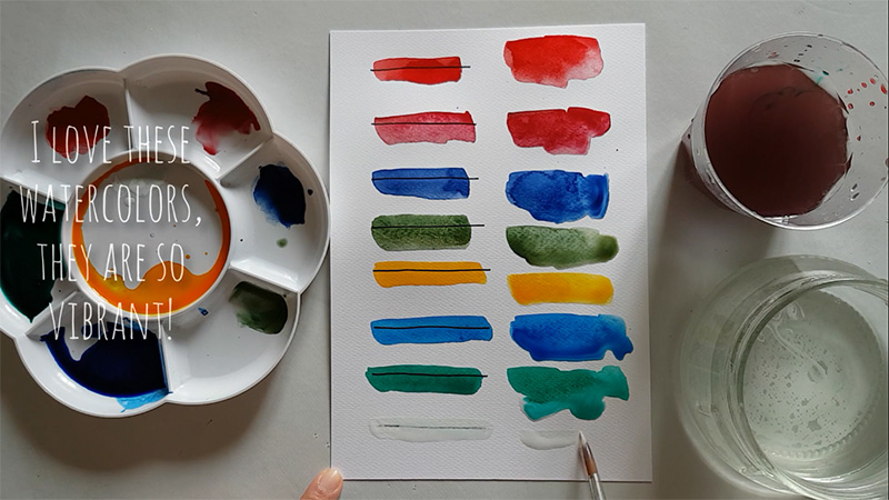 Picture of Watercolors' Test