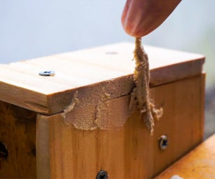 Make Joints in Woodworks DISSAPEAR!! - DIY Wood Filler