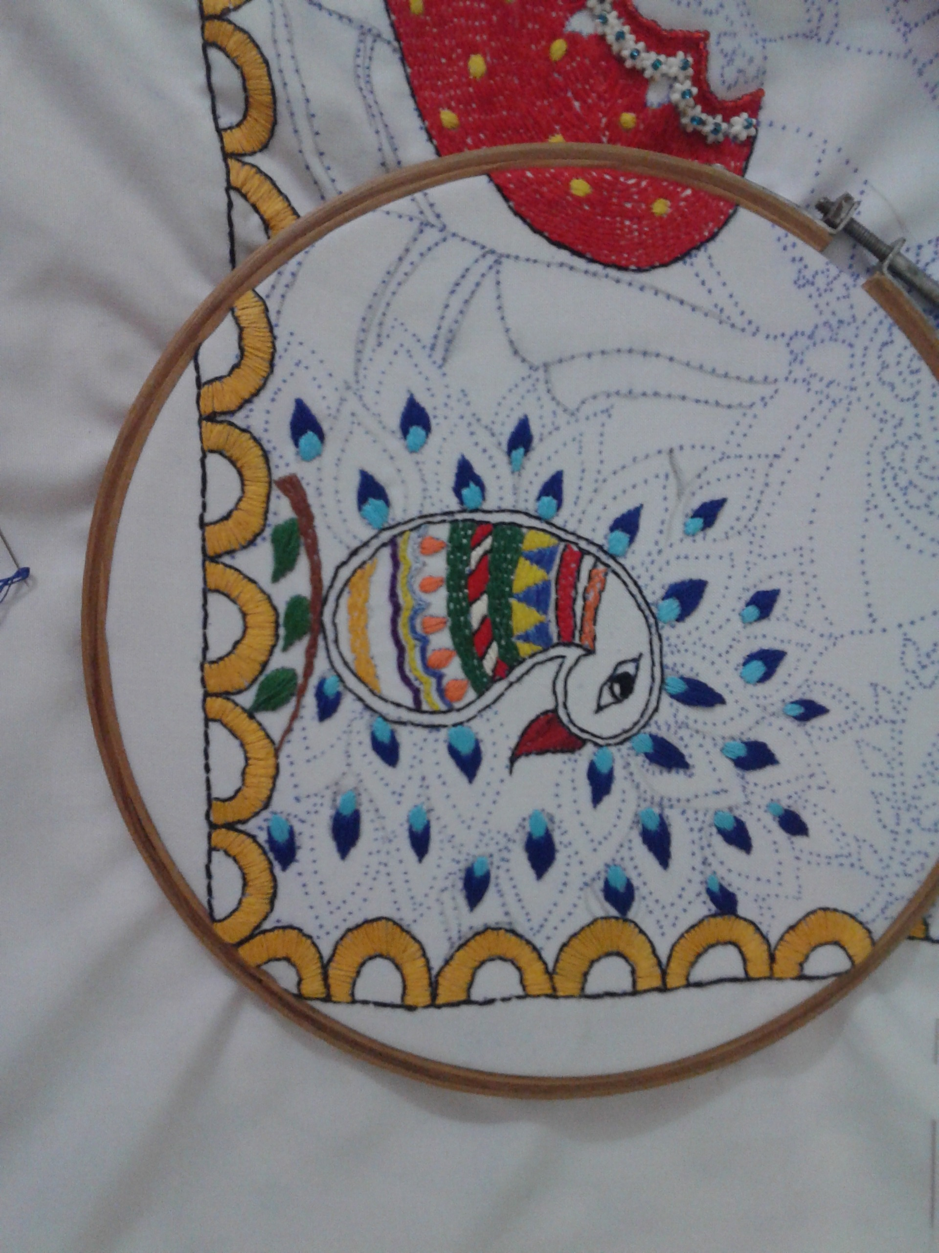 Picture of Thread Embroidery.