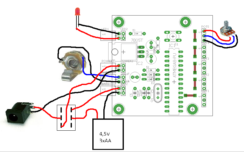 Picture of Wiring the Circuit