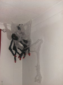 Sedrick the Spider With Movable Joints, Cheap,easy and Child Friendly!!