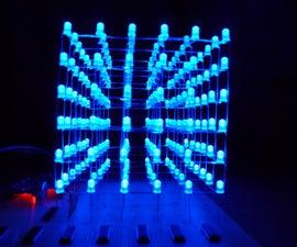 6x6x6 Arduino LED Cube