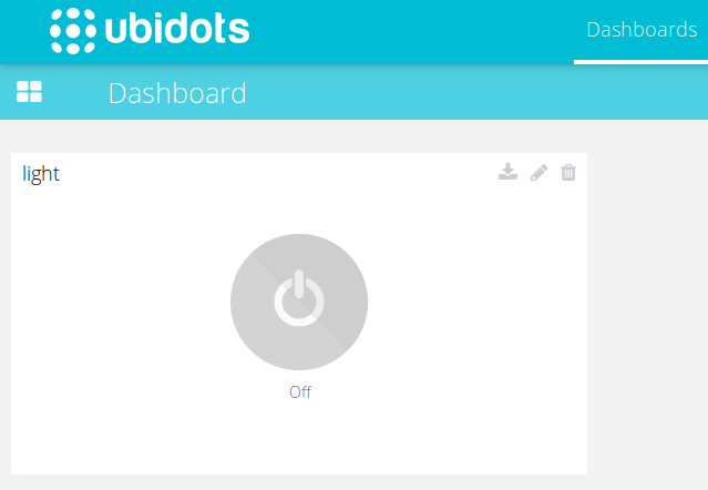 Picture of Receiving Data From Ubidots