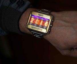 Nixie tube watch