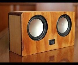 Portable Bluetooth Speaker 2X3W
