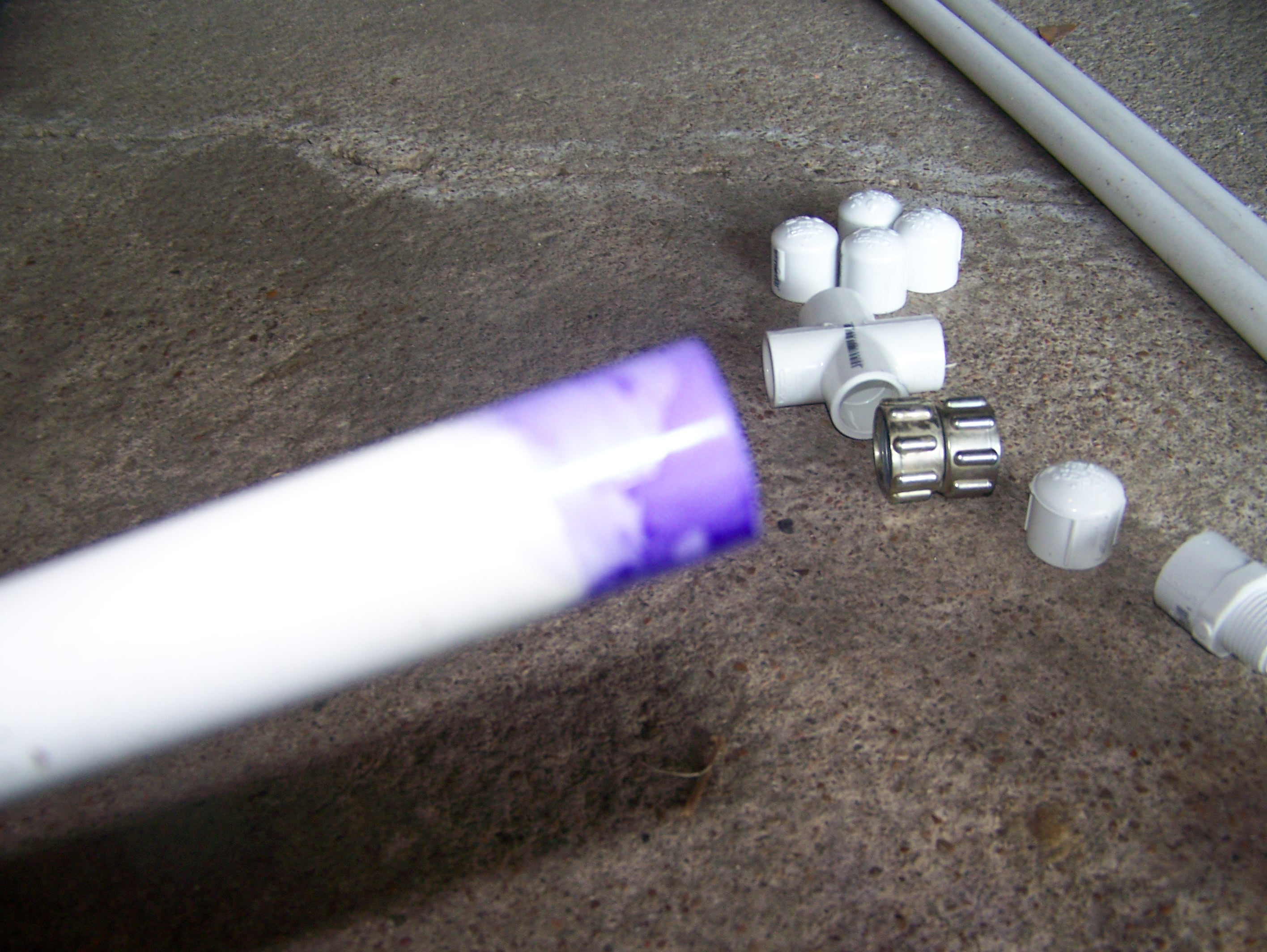 Picture of Preparing the PVC PIPE