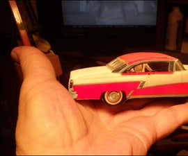 Make Your Own Model Cars and Save a Bundle!