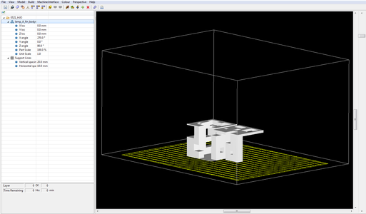 Set Up the Modeling File in the SliceIT