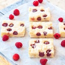 Meyer Lemon & Raspberry Bars
