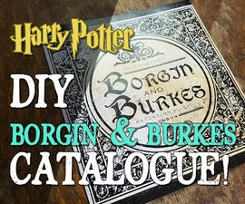 Borgin and Burkes Catalogue