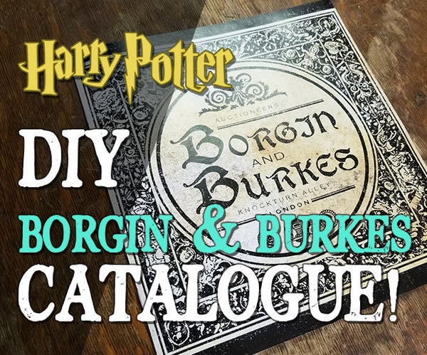 Borgin and Burkes Catalogue