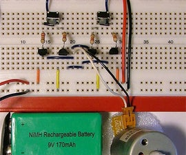 H-Bridge on a Breadboard
