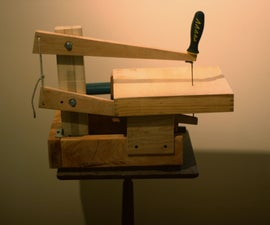 Make a scroll saw! (using only upcycled/free materials)