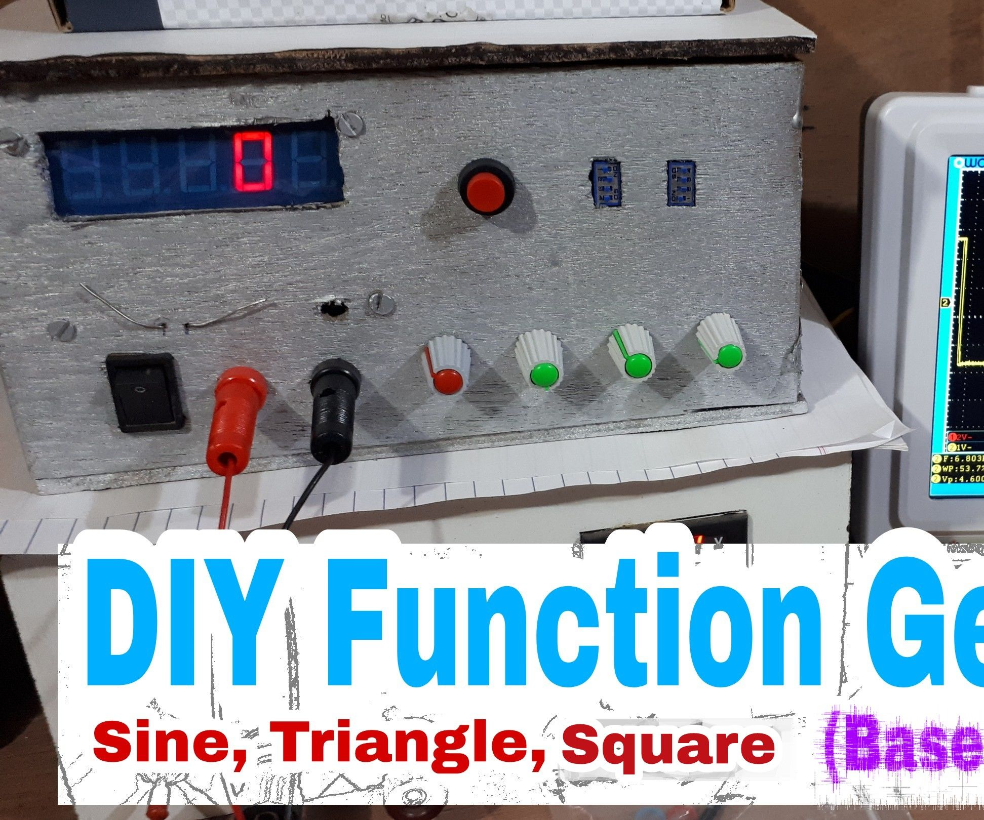 Diy Function Generator Icl8038 0 Hz 400khz 11 Steps Circuit Schematics Other Signal High Frequency