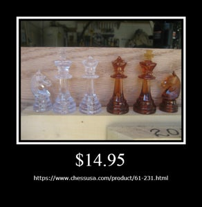 I BOUGHT a CHESS SET