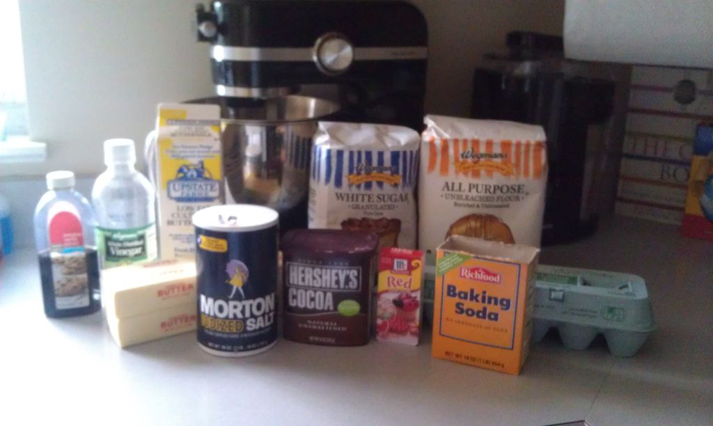 Picture of Cupcake Ingredients