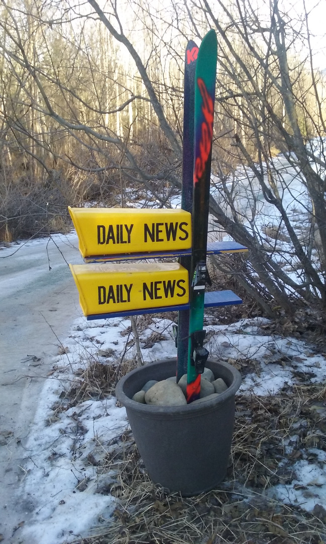 Picture of Global Warming Ski Project (Mailbox)