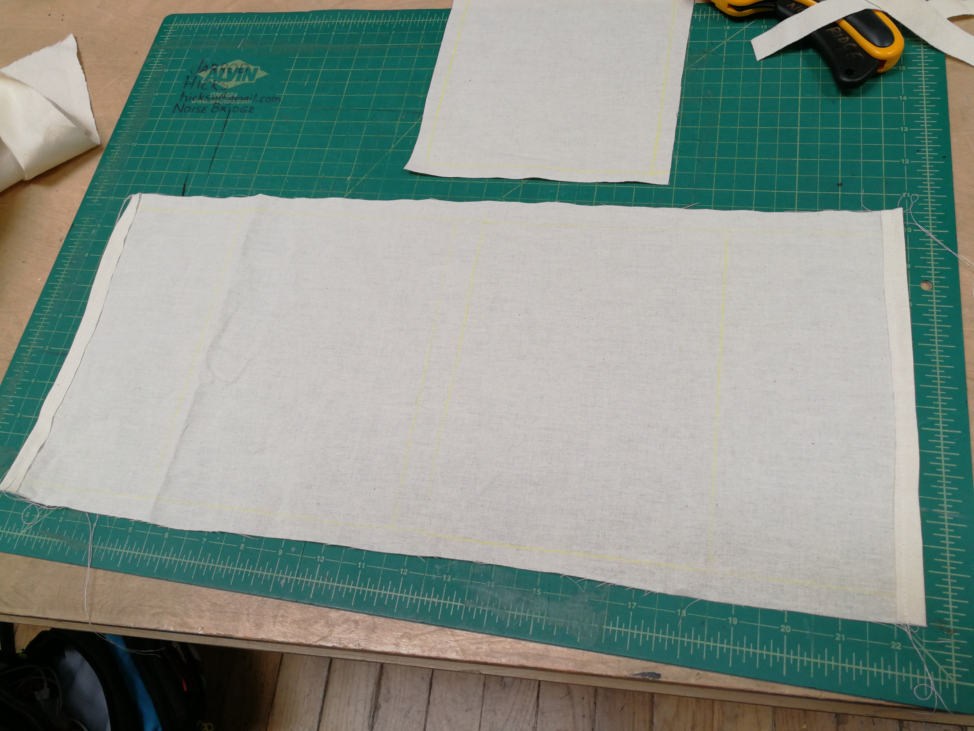 Picture of Sew the Edges of the Cover